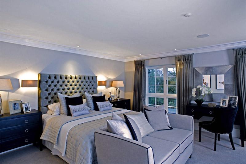 bright shiny white interior bedroom design home decor