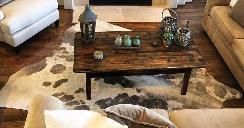 Spotted Cowhide Rug Photo Via @cowhiderugdecorhut · Living Room Part 68