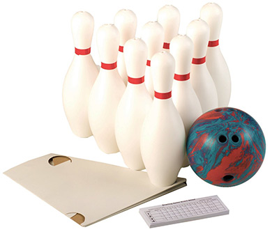 Weighted 10 Pin Bowling Set Part 31