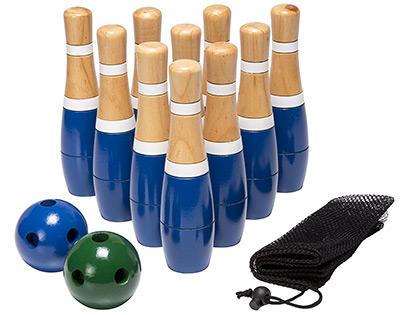 Wooden Lawn Bowling Set Part 39