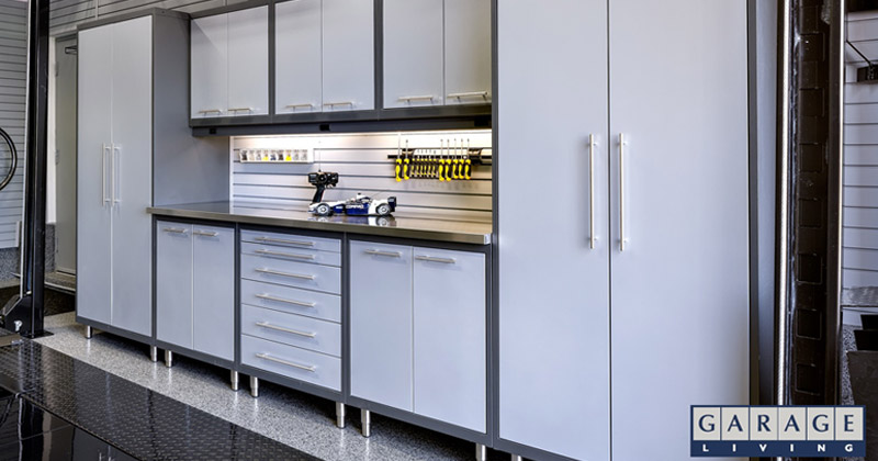 garage living cabinets & Best Garage Storage Cabinets For 2018 - Full Home Living