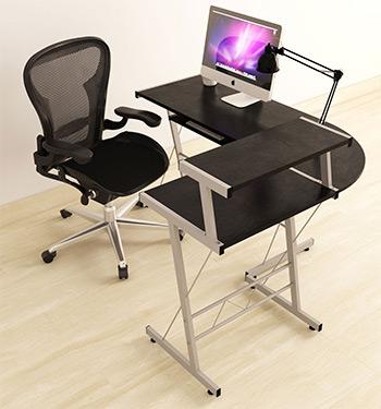 bhg corner desk & Best Corner Computer Desks For Your 2018 Home Office - Full Home Living