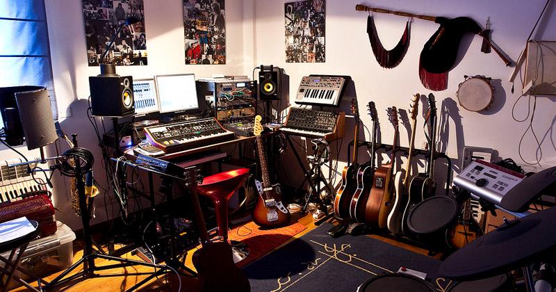 home studio interior