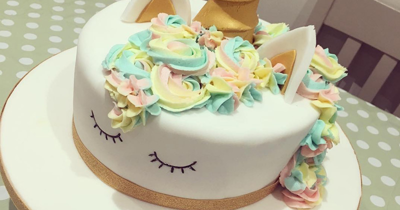 Perfect Unicorn Cake Decoration