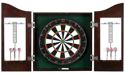 hathaway dartboard cabinet