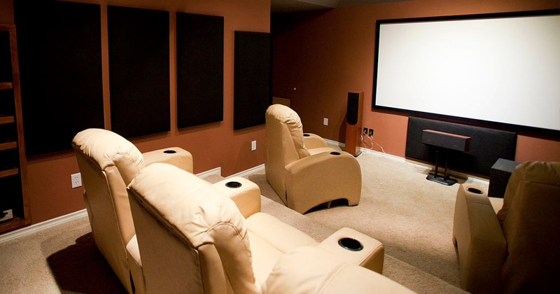 Nice Home Theater Design