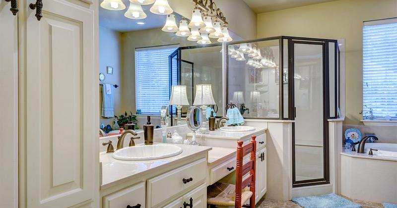 bathroom remodel interior