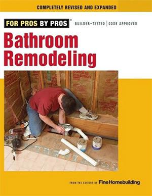 bathroom remodeling book