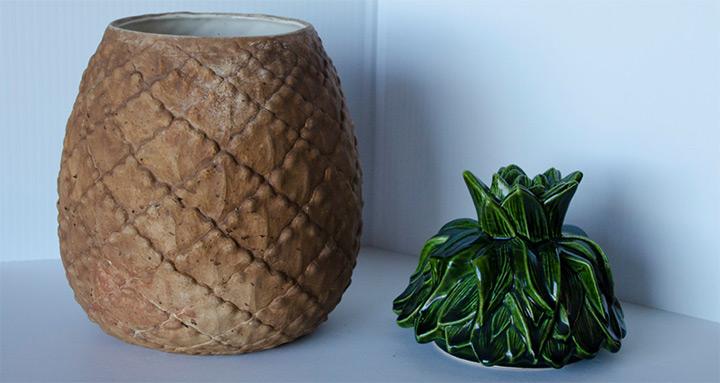 pineapple cookie jars