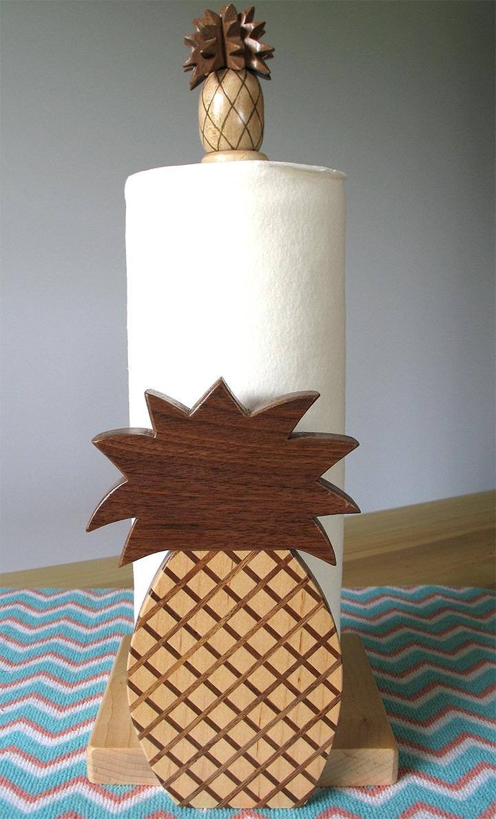 pineapple paper towel holders