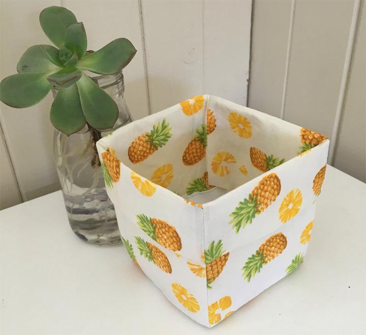 pineapple storage boxes