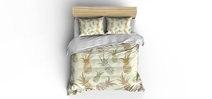 pineapple duvet covers