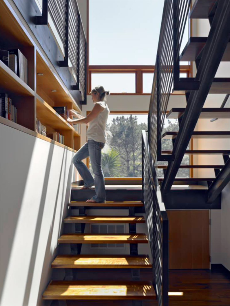 san francisco valley shelving stairs