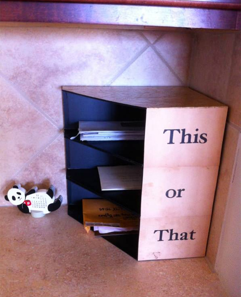 kitchen counter mail organizer 14 diy mail holder ideas that ll you reaching for 6634