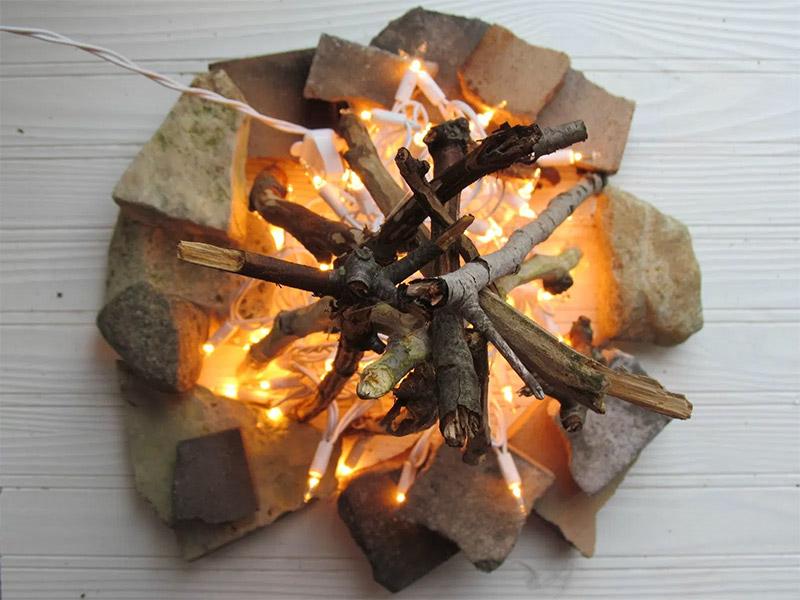 stringlight fireplace october june