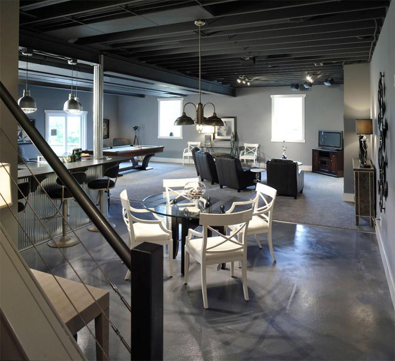 weaver custom homes basement