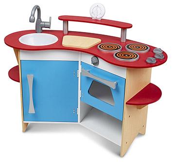 melissa doug corner kitchen