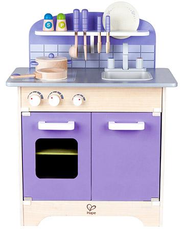 hape purple play kitchen