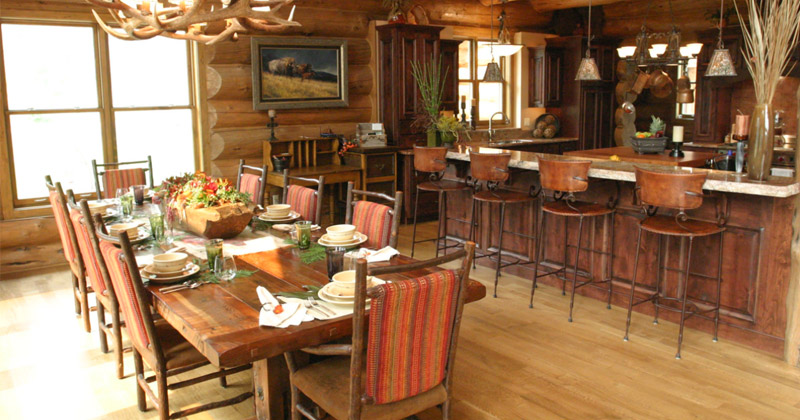 Beautiful Dining Room Ideas Part - 46: Cabin Dining Room