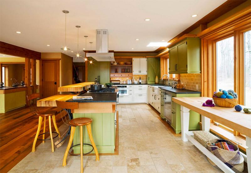 custom vermont kitchen eclectic interior