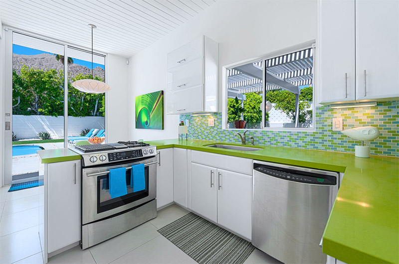 Green Kitchen Interiors For Home Design Ideas - Full Home Living