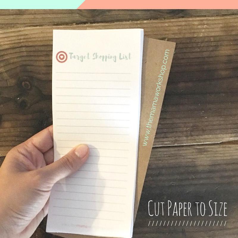 target shopping list diy