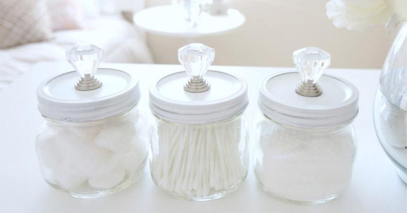 cotton swab holders