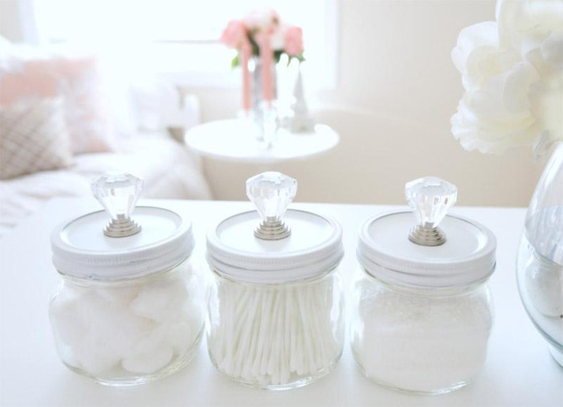 mini beauty jar diy