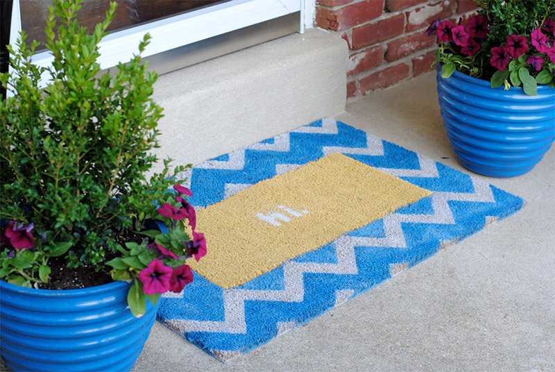 swappable doormat design