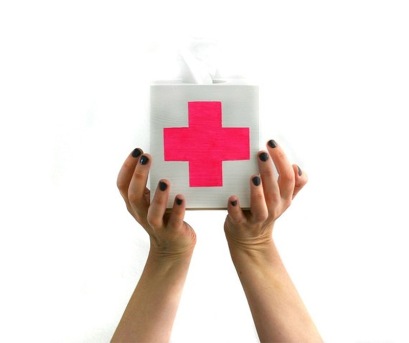 modern tissue box