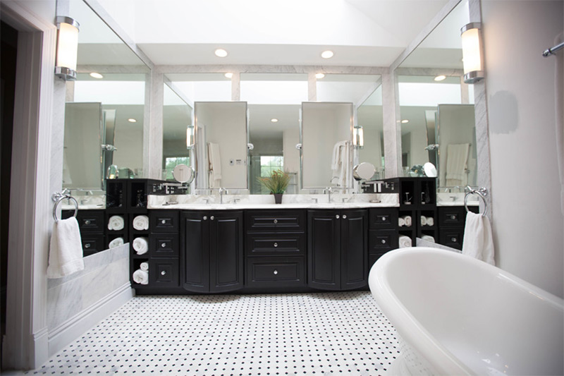Master Bath And Bedroom Trim