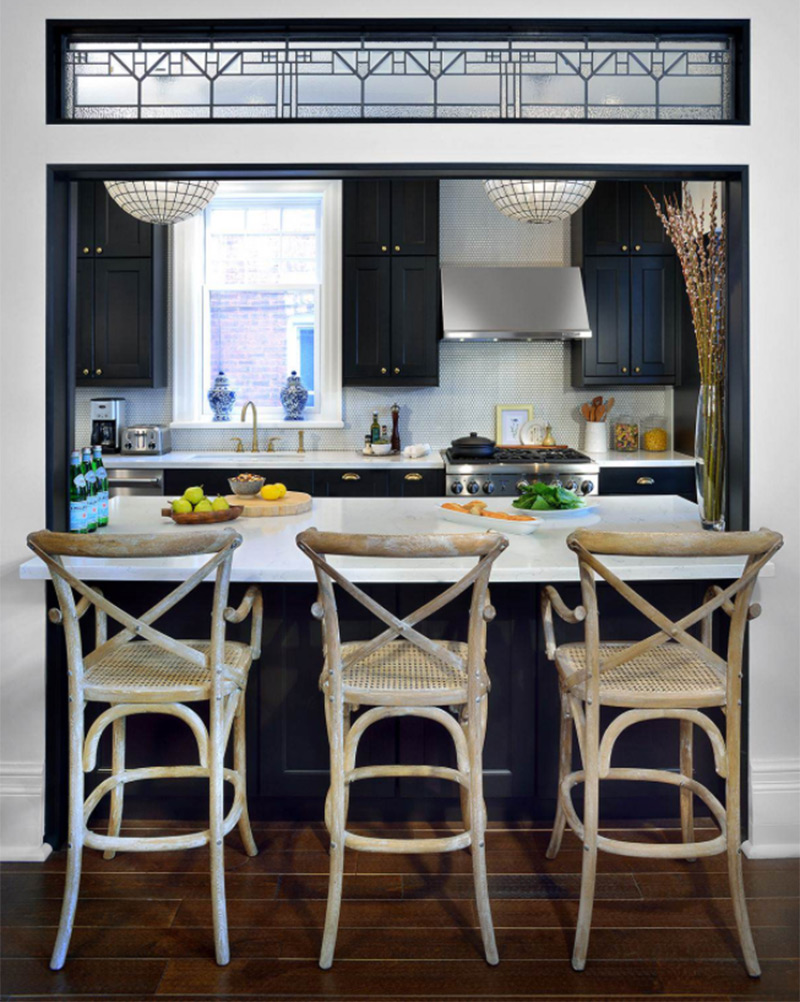 Kitchen To Dining Room Pass Through Ideas Part - 33: French Bistro Kitchen Pass-through