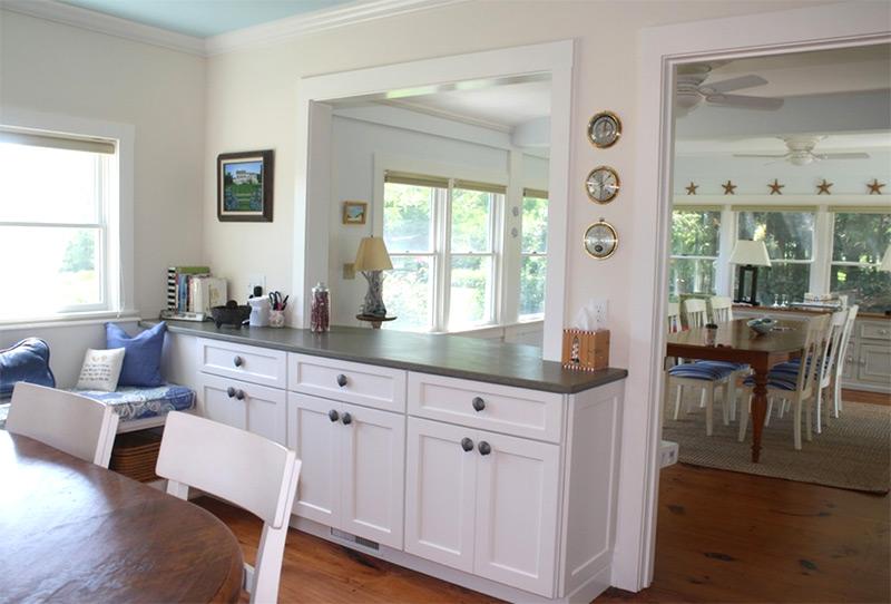 Great Cape Cod Kitchen Pass Through