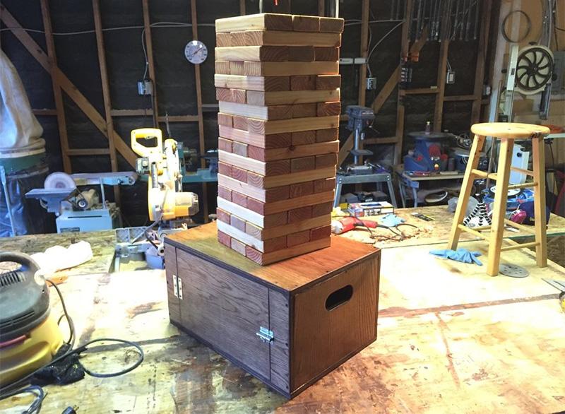 Howto build a giant Jenga set
