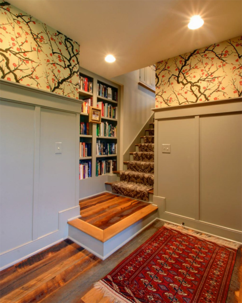 Staircase landing decorating ideas for your home full - Residence principale don taylor design ...