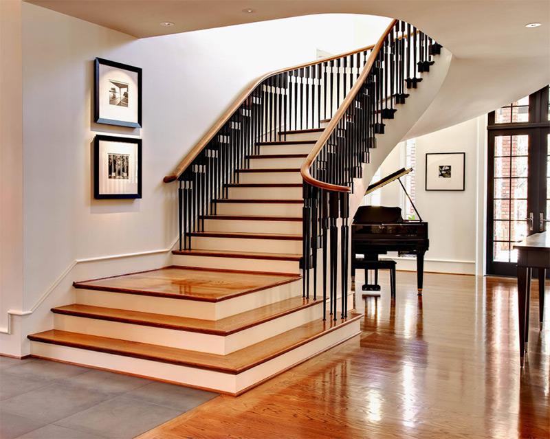 dustin peck interior photo staircase landing