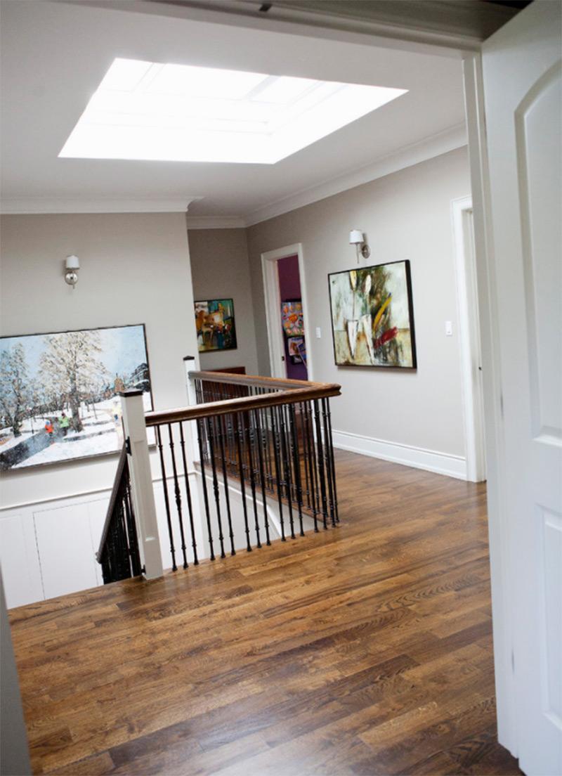 Chesnut Hills upstairs flooring concept
