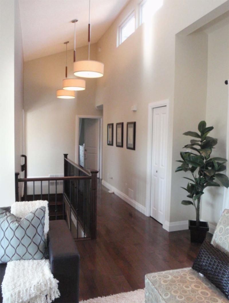 Beach Grove interior hallway design