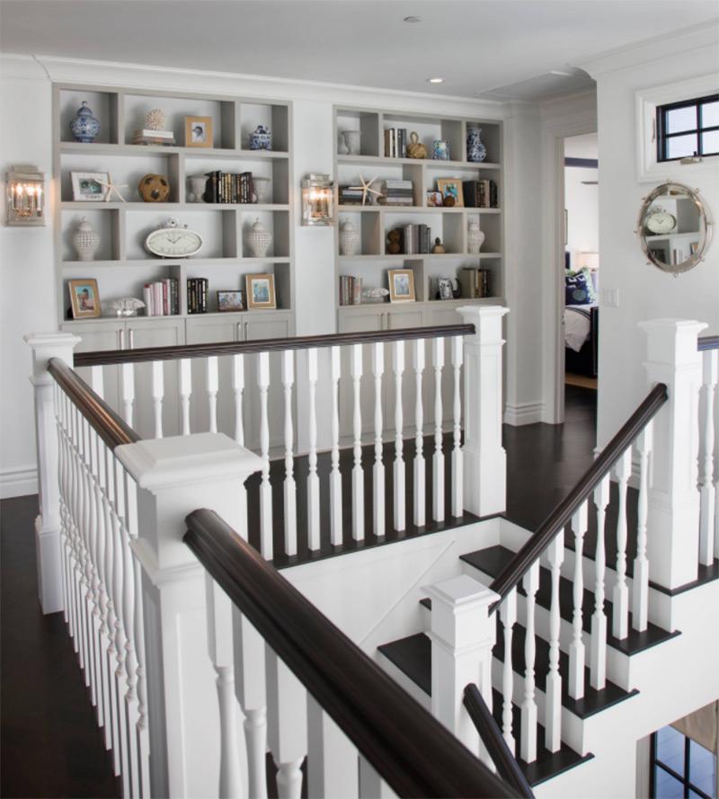 Simple clean hallway interior concept