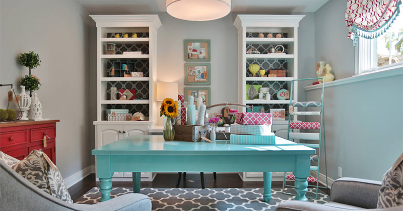 Superior Sewing Room Designs & Ideas Part - 7: Featured Sewing Design Interior