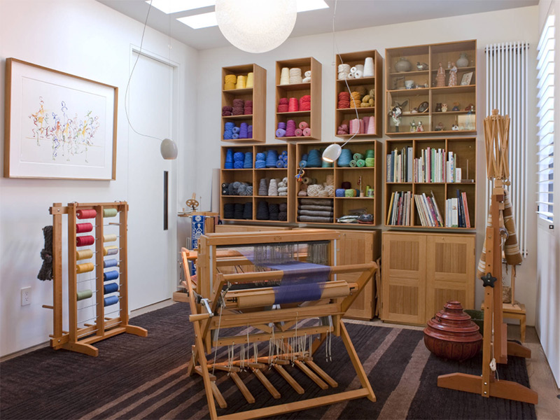 Common office crafts room