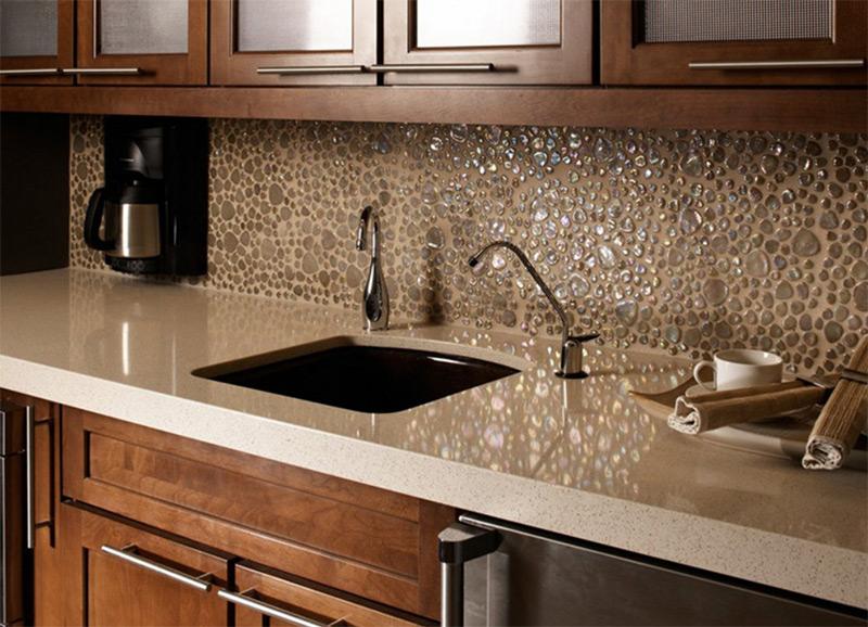 water kitchen backsplash dark sink