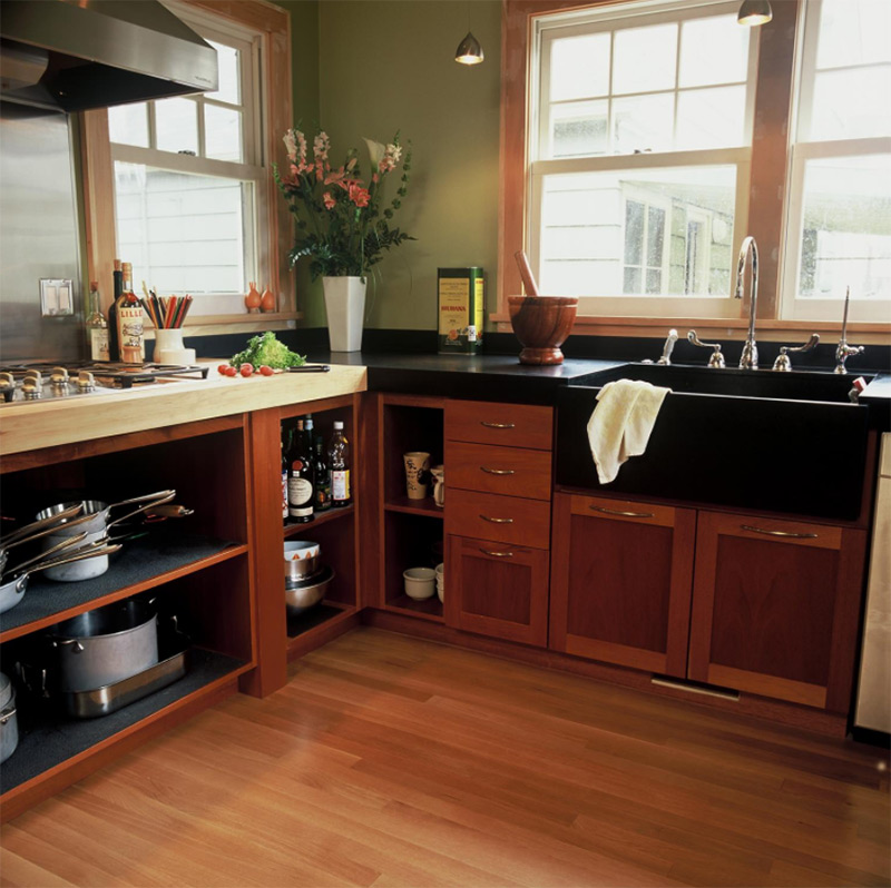 Bold & Modern Black Kitchen Sink Ideas - Full Home Living