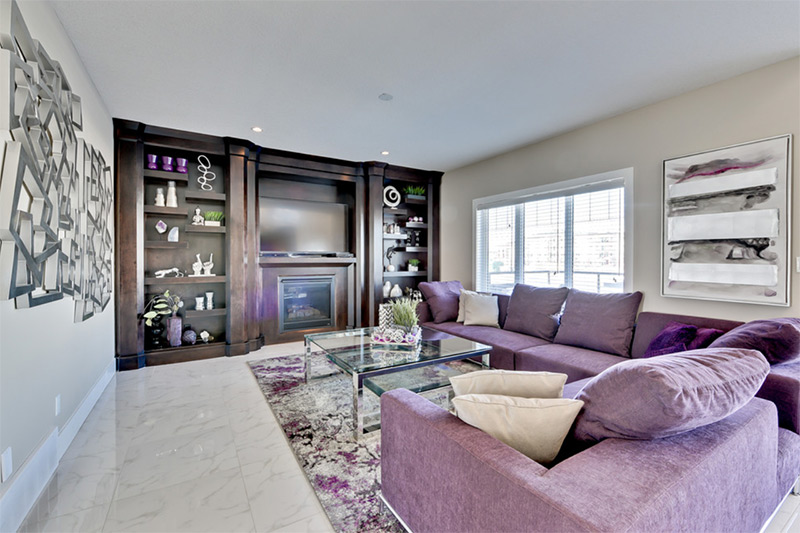 Purple Sofa Decor Ideas To Mix & Match Your Living Room - Full Home ...