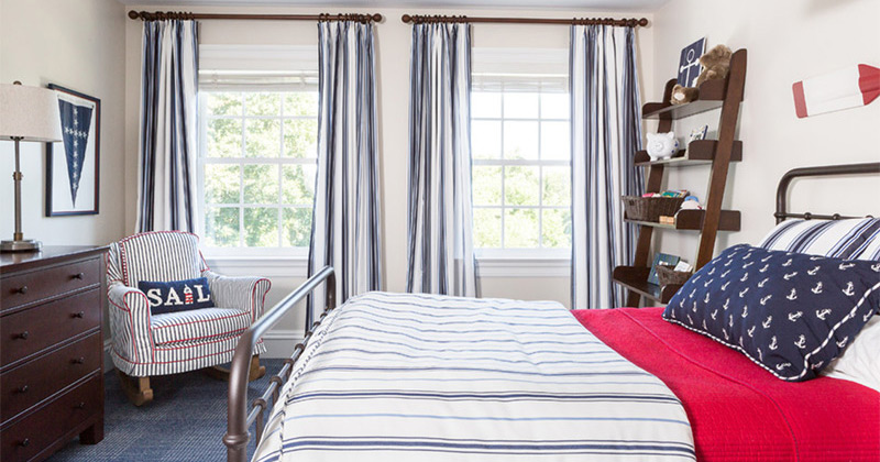Nautical Ocean Themed Bedrooms