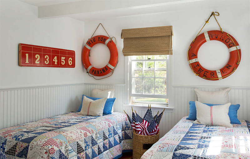 Nautical Bedroom Ideas: A Home Design Gallery - Full Home Living