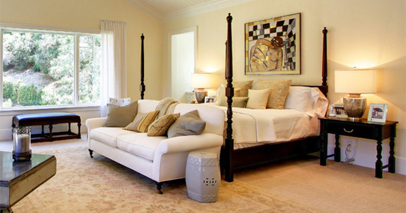 bedrooms w couches. Lovely Bedroom Interiors with Sofas and Couches   Full Home Living