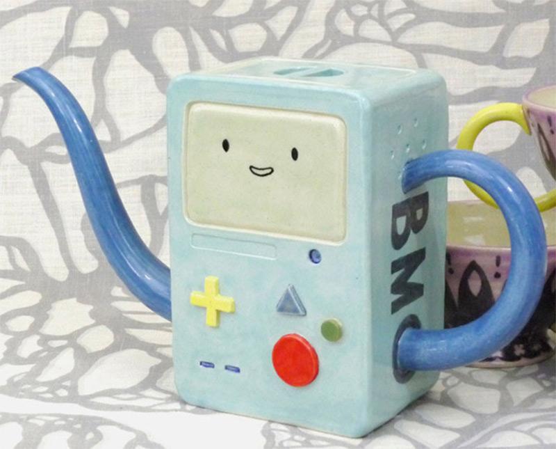bmo beemo adventure time design teapot custom
