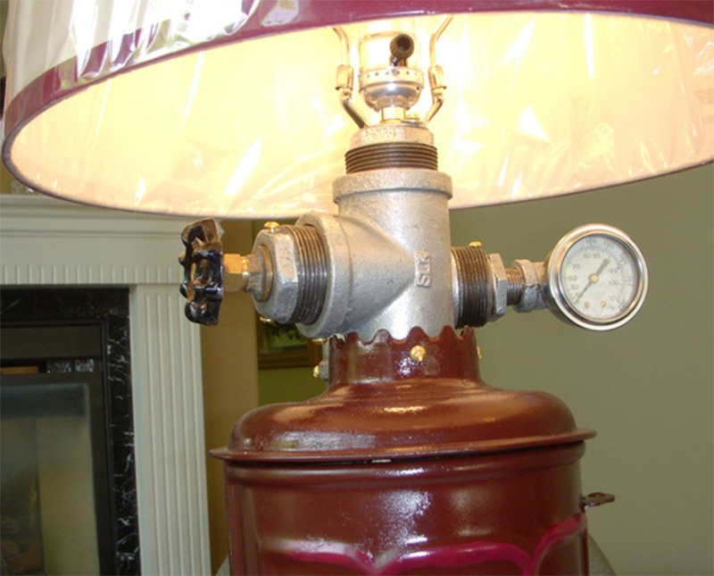antique water heater lamp etsy