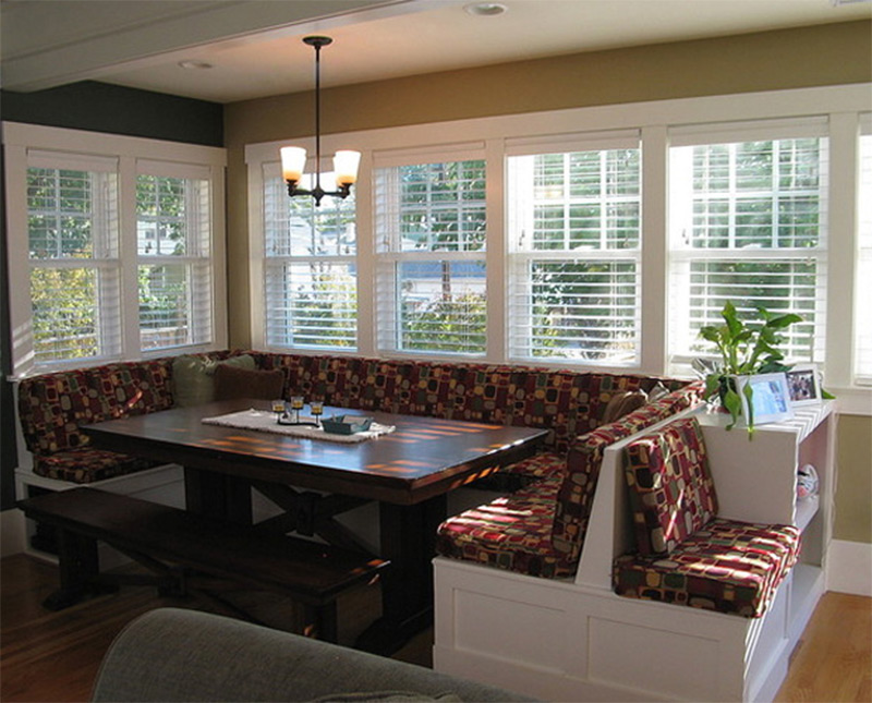 Windowed Breakfast Nook
